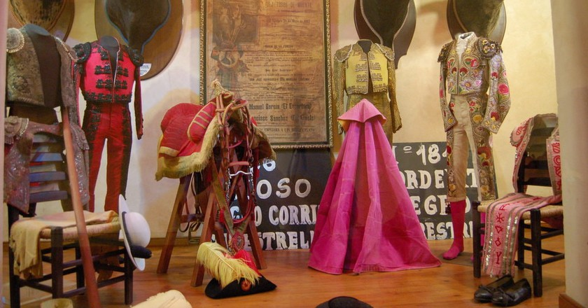 Exhibits at the bullfighting museum in Ronda   © Tajchman / WikiCommons