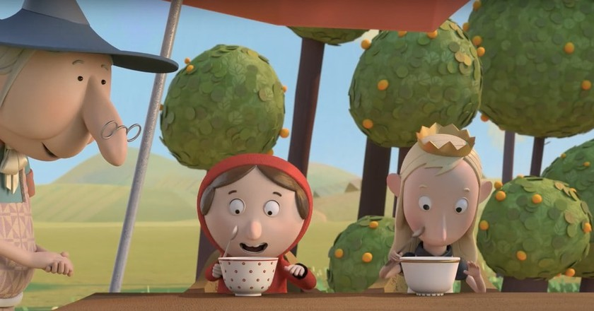 "Revolting Rhymes <a href=""https://www.youtube.com/watch?v=J2n4OTAqqqQ"">© Magic Light Pictures / YouTube</a>"