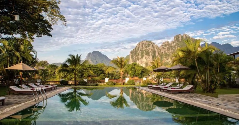 Pool | © Vang Vieng Riverside Boutique Resort/Hotels.com