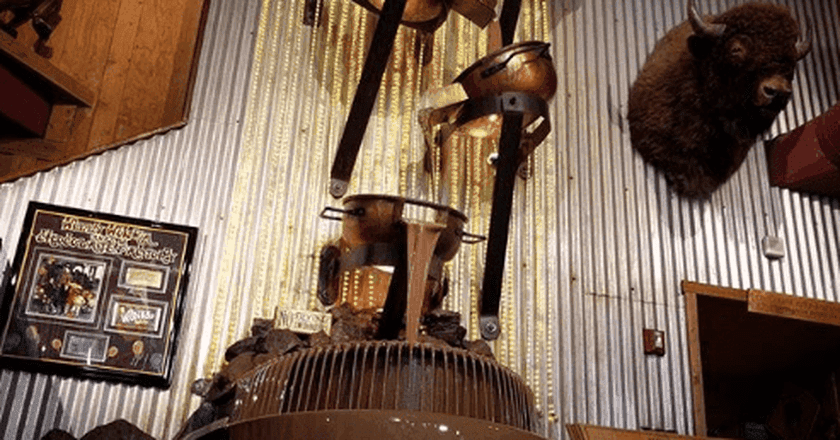 This Alaskan City is Home to the World's Largest Chocolate Waterfall