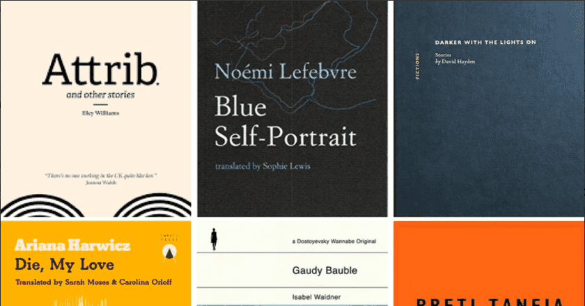 Covers courtesy of The Republic of Consciousness Prize for Small Presses
