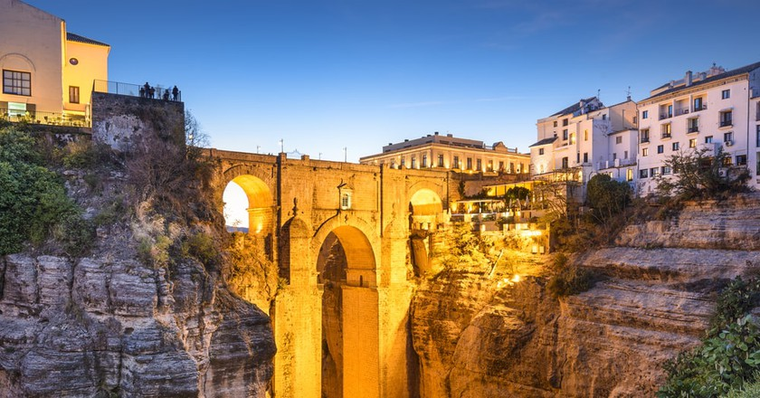 Ronda's stunning New Bridge; Sean Pavone/Shutterstock