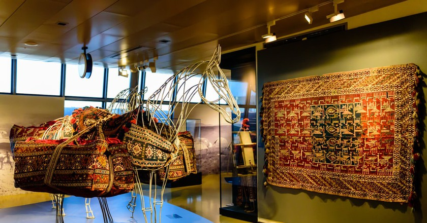 Inside the Baku Carpet Museum | © RAndrei/Shutterstock
