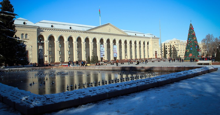 City Hall and main square in Ganja | © Aleksandr Stezhkin/Shutterstock