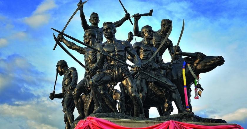 The Bang Rachan Heroes of Singburi | © Mr.Peerapong Prasutr / Wikimedia Commons