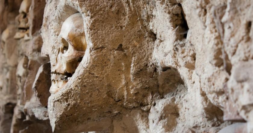 Human skulls shouldn't be in towers   Kristina Bojovic/shutterstock