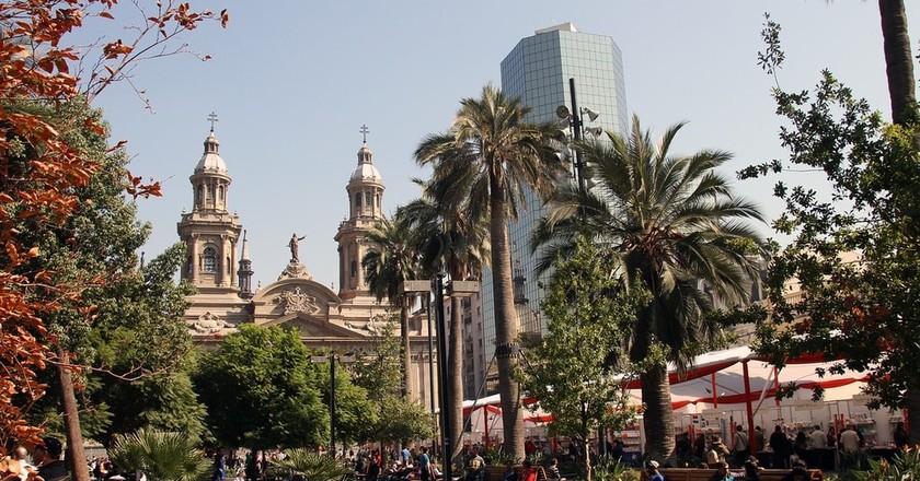Santiago Metropolitan Cathedral  © MonicaVolpin/Pixabay