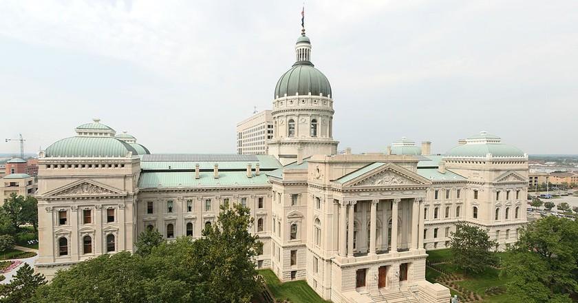 Indianapolis Statehouse | © Massimo Catarinella / WikiCommons