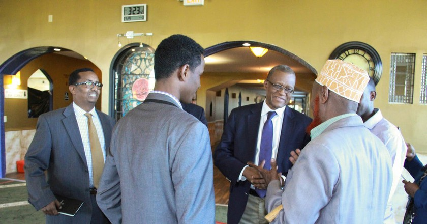 The AU Special Representative for Somalia talks with Somalis in Minnesota | © AMISOM Public Information/Flickr