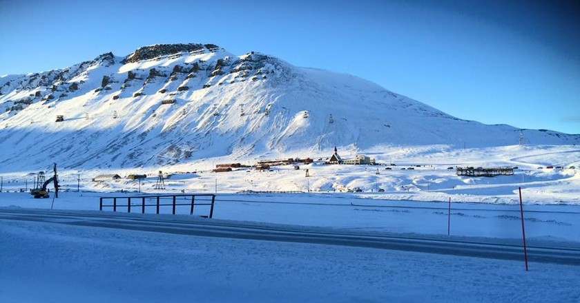 The day when the sun returns in Longyearbyen | Courtesy of Longyearbyen Kulturhus