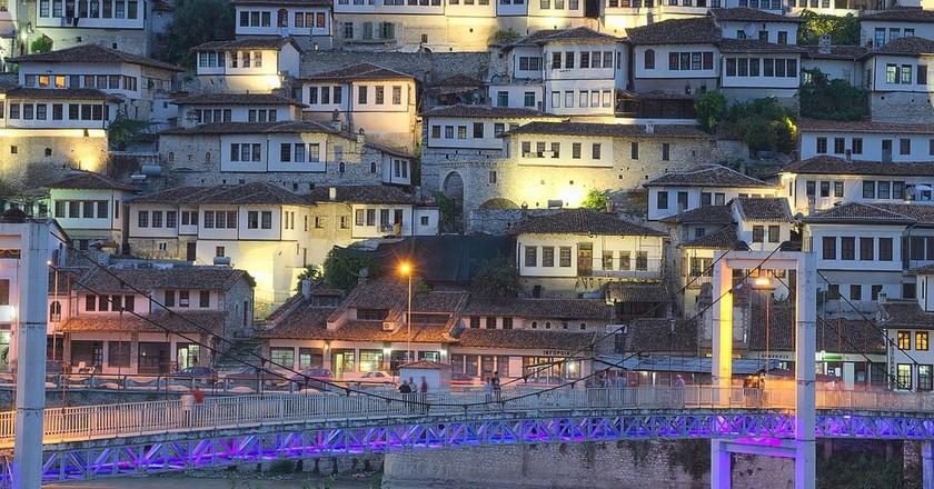 Tirana in the evening   © Websi / Pixabay