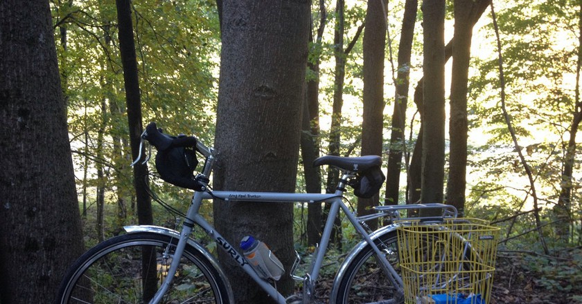 Surly LHT on The Great Allegheny Passage Trail | © kirybabe / Flickr