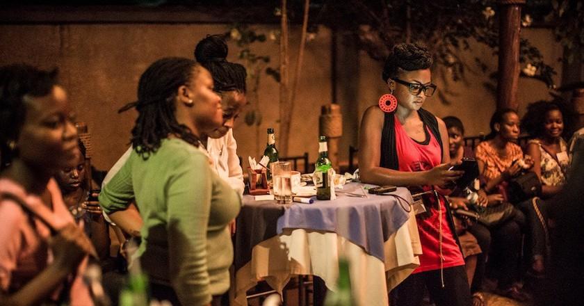A get-together of Uganda's women in technology | Courtesy Ceril Jazbec
