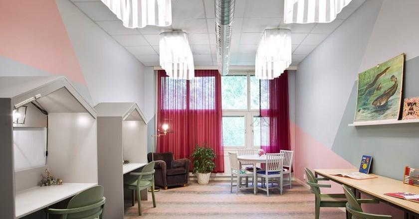 A beautifully designed study room   Photo: Björn Petrén / Courtesy of We Unite Design