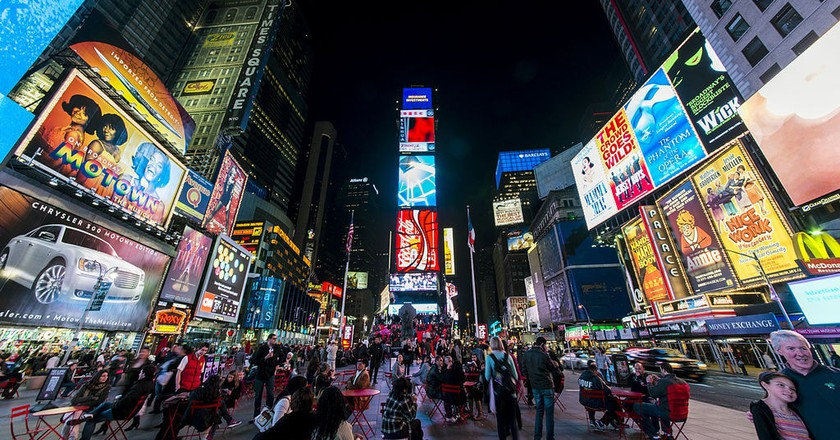 Times Square at night | © chensiyuan/WikiCommons