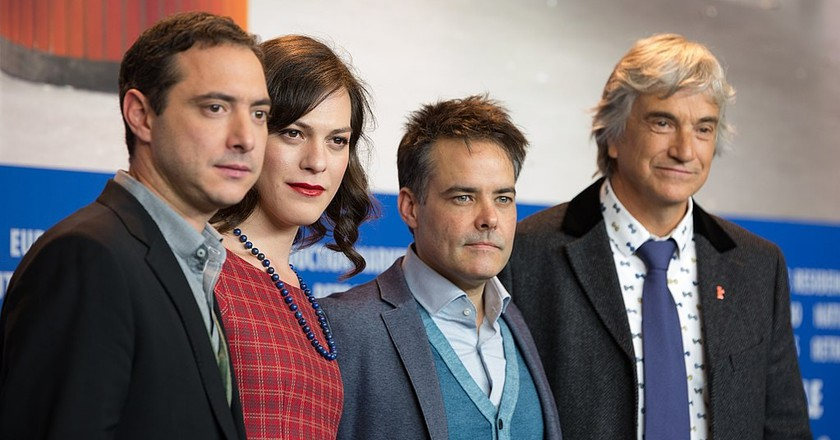 The film team of A Fantastic Woman on the red carpet at the Berlinale 2017   © Martin Kraft / WikiCommons