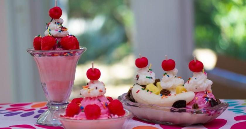 Decadent ice cream treats abound on the island of Puerto Rico