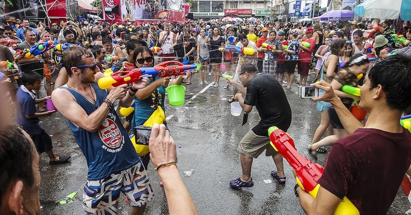 Songkran fun | © John Shedrick / Flickr