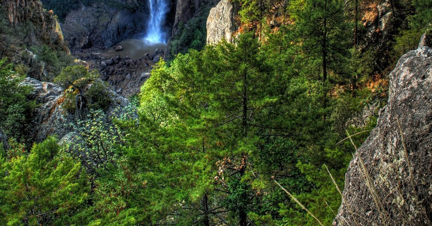 The Basaseachic Waterfall is Mexico's second tallest
