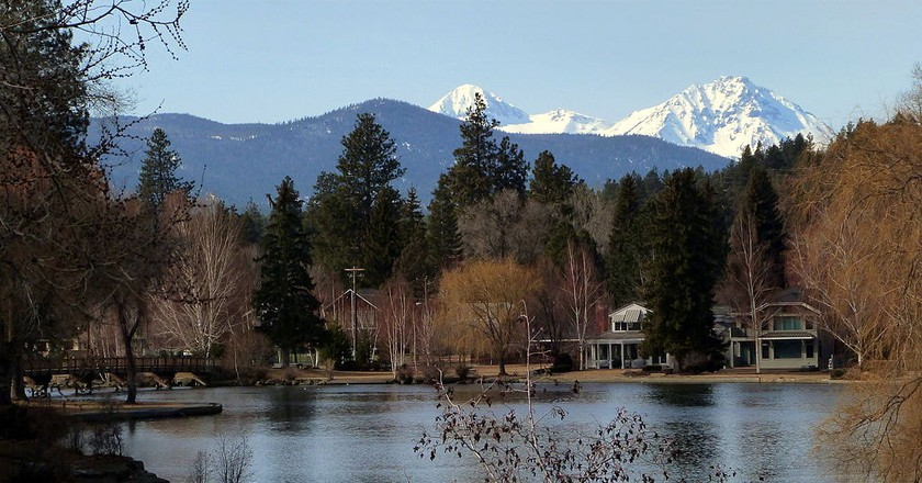 Scenic Bend, Oregon