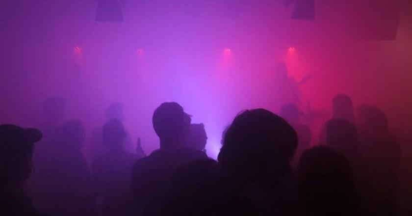 People Dance at Berlin Gig