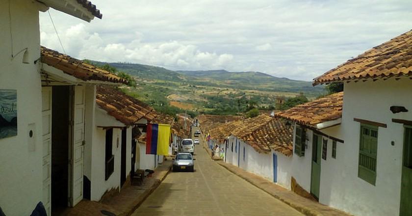 A street in Barichara | © Fago_11 / Flickr
