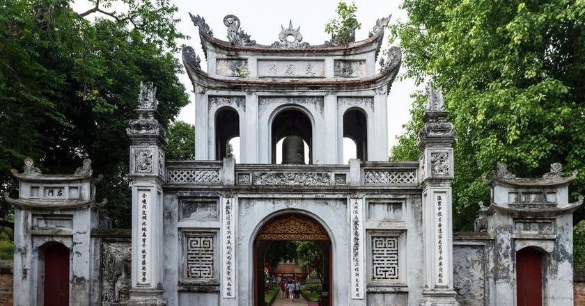 Vietnam's first university   © beggs/Flickr