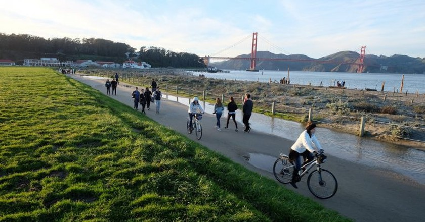Crissy Field Promenade Repair |©Golden Gate National Recreation Area / Flickr