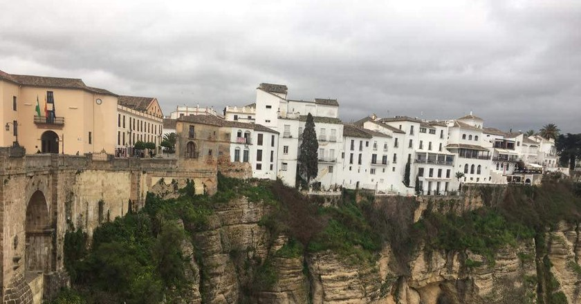 Ronda under moody grey skies; Soraya Montero Rodríguez/flickr