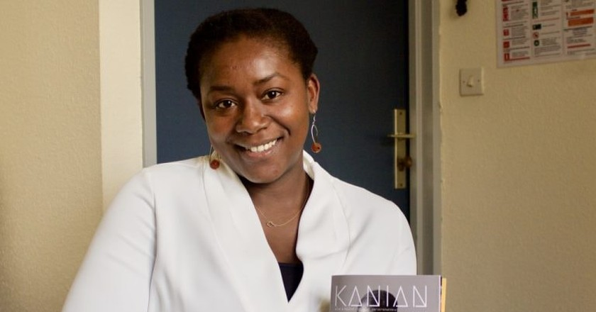 Agnès Kouleon, editor-in-chief of Kanian Magazine