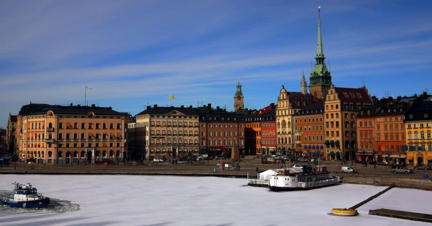 Stockholm is a very picturesque city