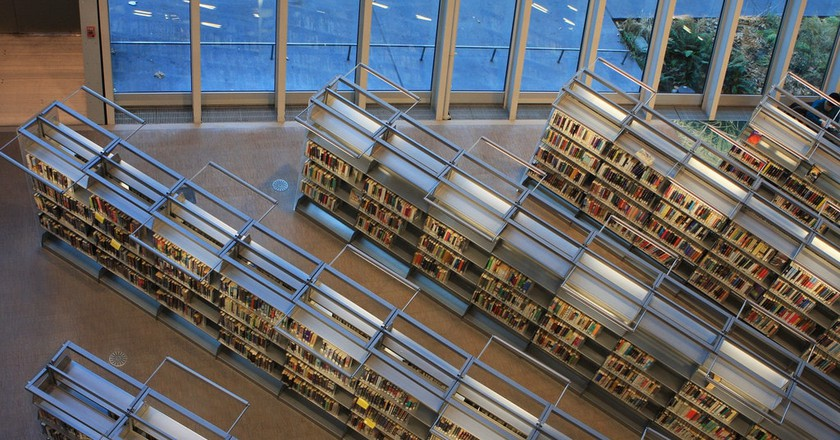 Bookshelves - Seattle Central Library
