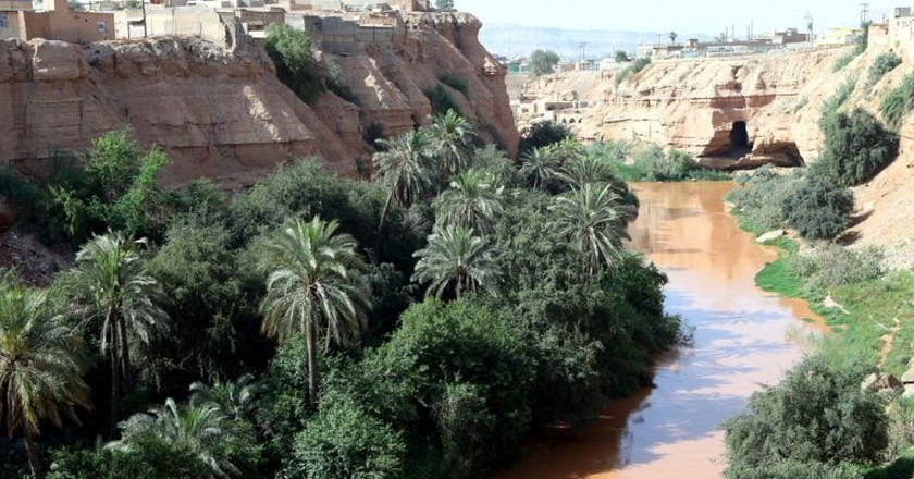 Shushtar is home to the UNESCO-listed historical hydraulic system