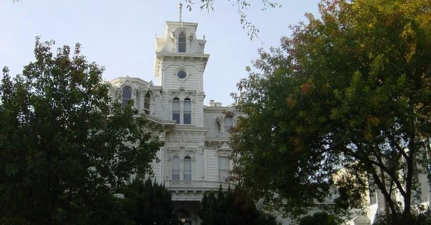 The Governor's Mansion in Sacramento, CA