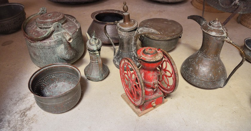 Antique Qahwa Pot
