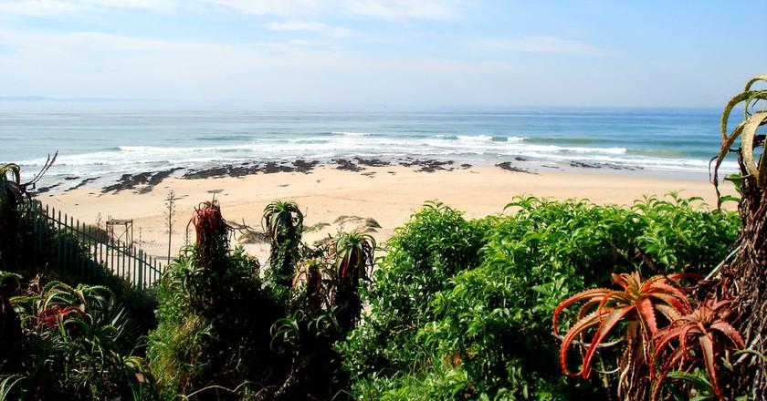 Iconic beach shot of Jeffreys Bay