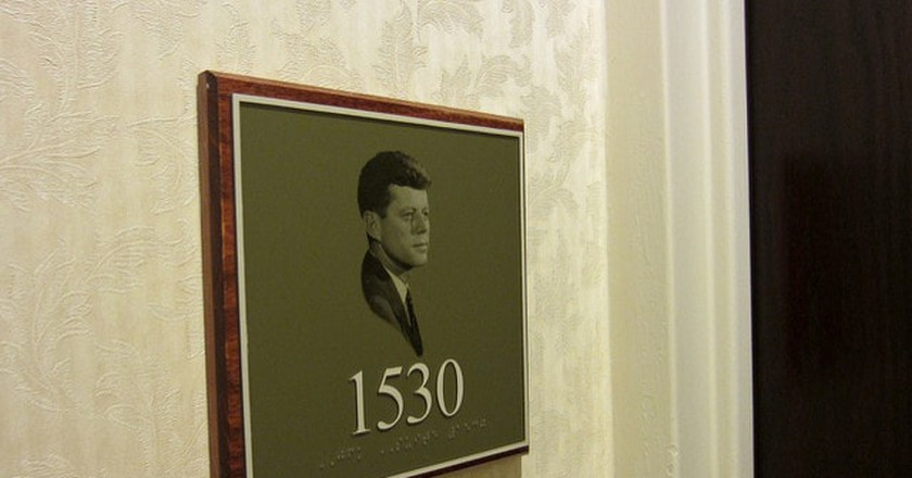 The Hilton Fort Worth has a JFK Suite