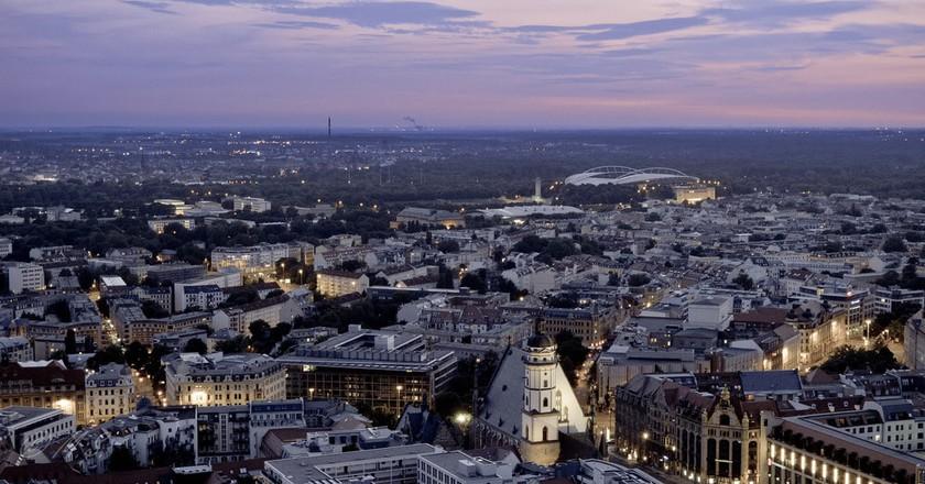 Leipzig Skyline | © MatthiasX1 / Flickr