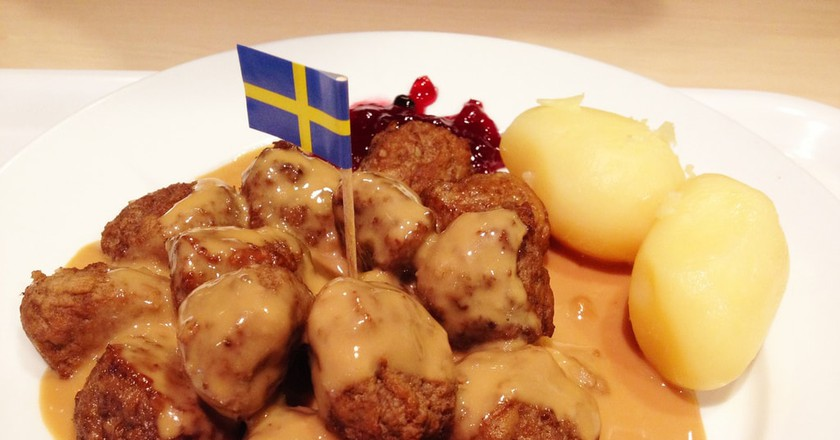 Classic Swedish meatballs