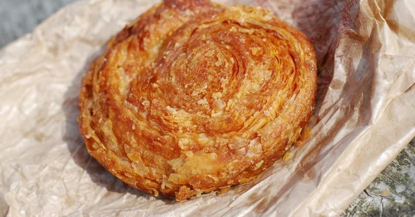 Delicious Breton Kouign-amann cake