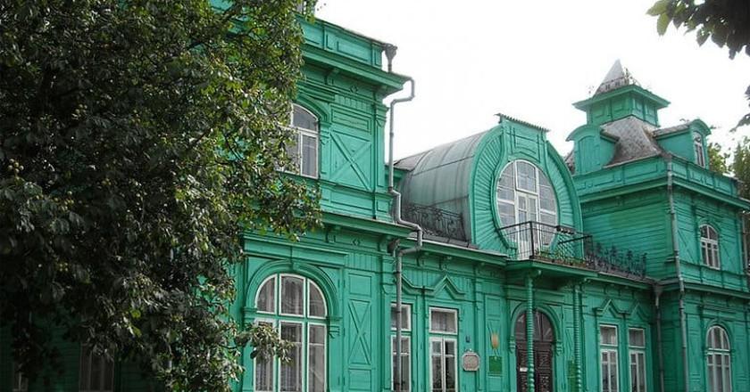 Green Library, Babruysk | © Andrei Kuzmin  / WikiCommons