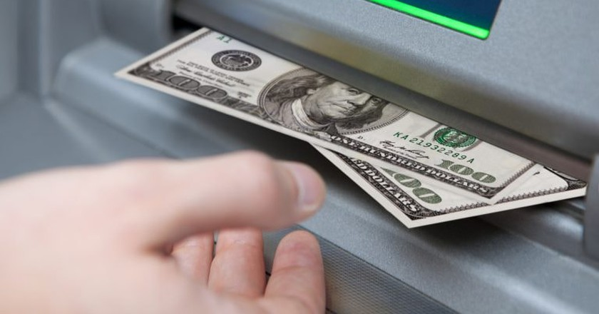 Use ATMs in banks