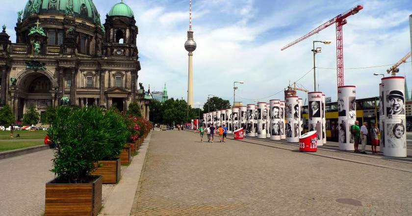 Berliner Dom and TV Tower in Berlin