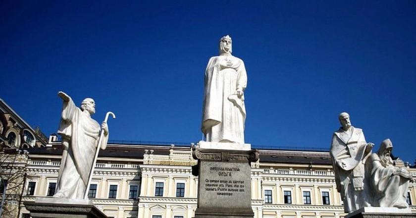 The monument to Olga of Kiev (cropped)