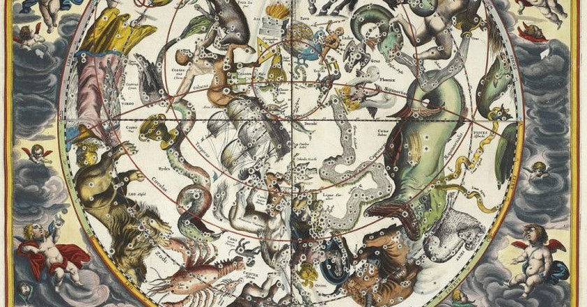 Andreas Cellarius, Atlas Coelestis, 1660
