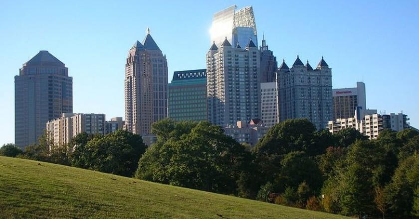 Atlanta in the spring   © Atlantacitizen / WikiCommons