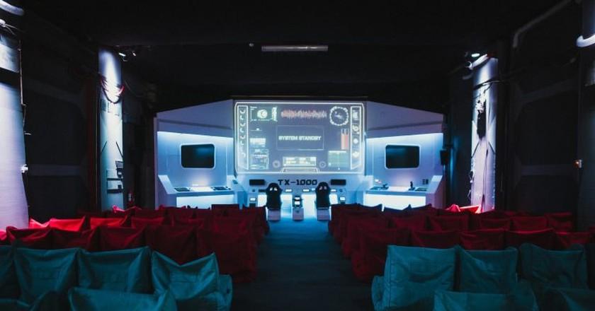 Mission to Mars screening room