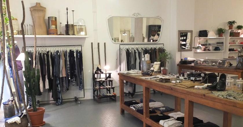 Bagni Paloma concept store in Turin  