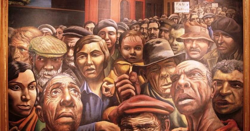 A famous Argentine artwork by Antonio Berni
