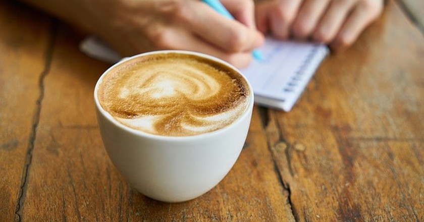 Get your caffeine fix while playing tourist